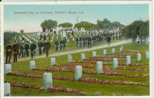 Memorial Day started at Decoration Day, created by General John Alexander Logan , commander in chief of an organization of Union veterans called the Grand Army of the Republic,  to honor Union soldiers killed in the Civil War by decorating their graves.