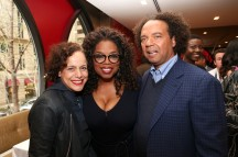Ikram Goldman, Oprah and Andre Walker (photo by George Burns).