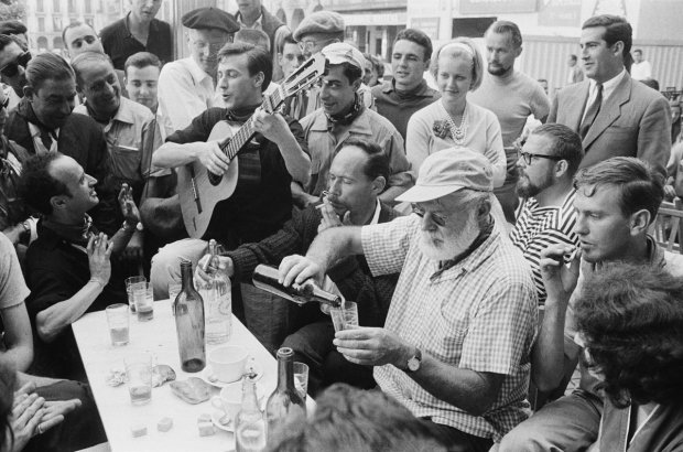 A Seat at the Bar With Ernest Hemingway