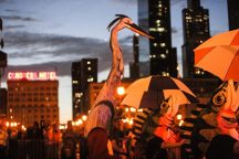 Arts in the Dark Halloween procession is tonight