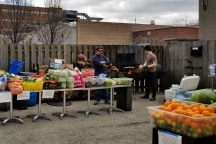 Chicago restaurants: open-air Saturday market at Acadia & pickup & delivery throughout the city