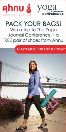 Win A Trip to The Yoga Journal Conference