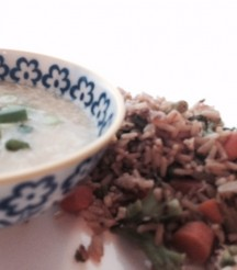 Almost Meatless Monday: Egg Drop Soup and Fried Rice