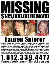 Every parent's worst nightmare - please help the Spierer family find their daughter.