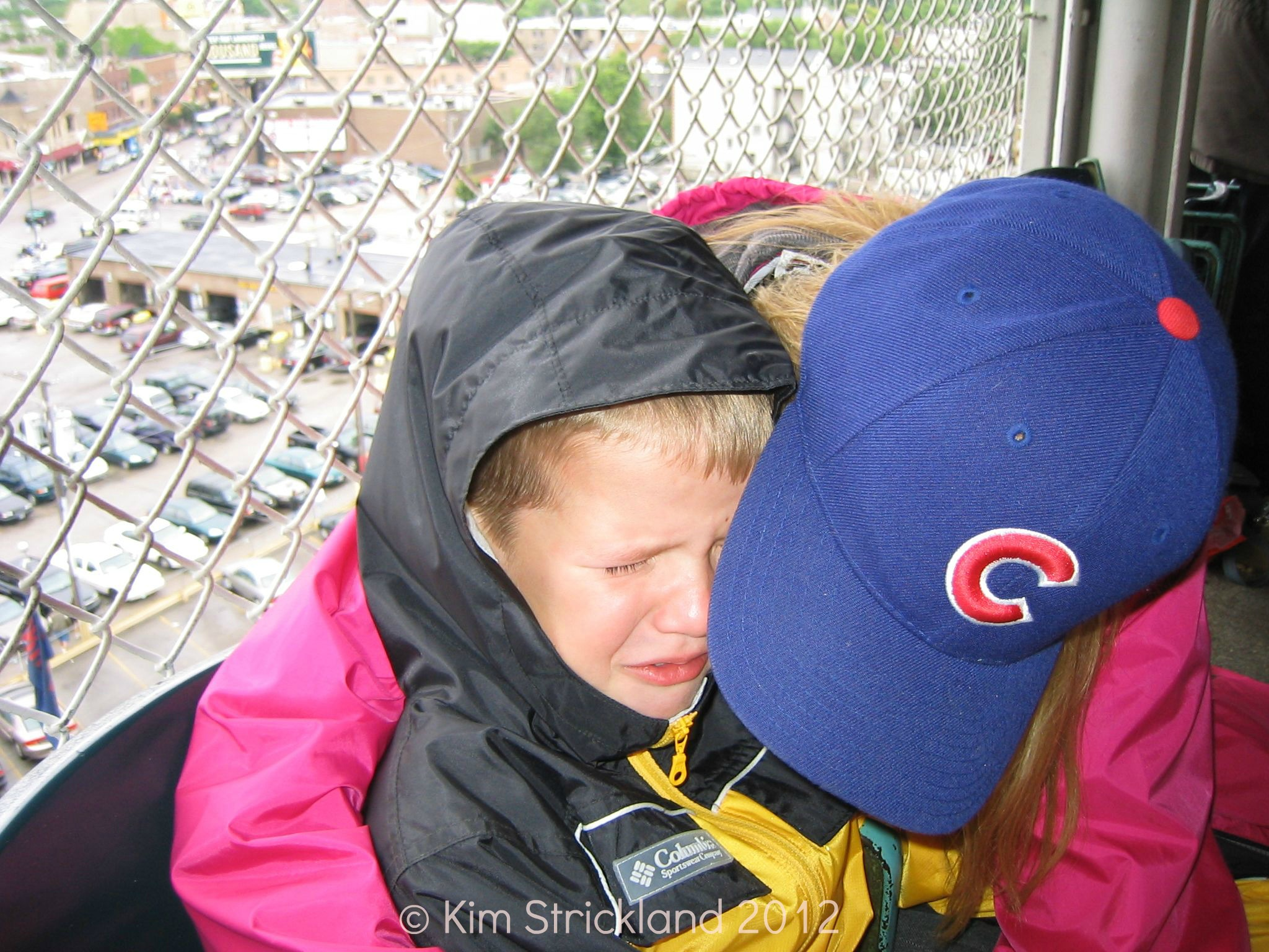 Two Cubs tickets for a family of five? Perfect!