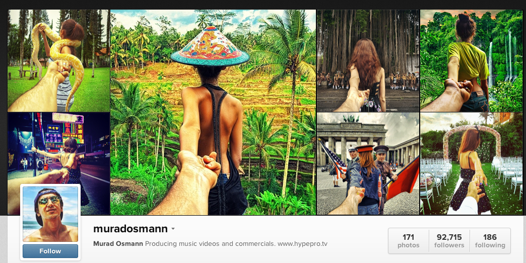 Girlfriend Leads Man On Travel Adventure: Incredible Instagram Photos