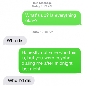 Wrong Number 1