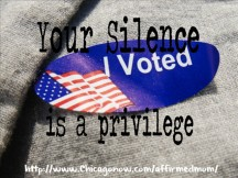 Your Silence is a Privilege