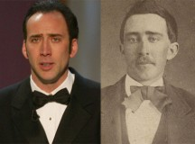 If this isn't a photograph of the immortal Nicolas Cage, then we definitely found his doppelgänger.