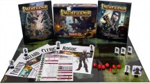 Pathfinder Beginner Box, and all that comes with it! <br />Photo Courtesy: Paizo.com