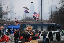 Bear and Packer fans tailgating at the 31st street lot Sunday December 16th 2012