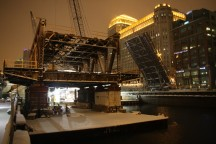 Wells Street Bridge Reconstruction - Rick Lobes, ChicagoNow, March 6, 2013