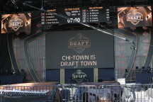 Inside NFL Draft Town Chicago photo gallery