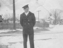December 1943 - Dad was only 17 years old.