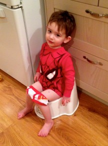 Why potty training sucks ass and I am not enjoying this one single bit