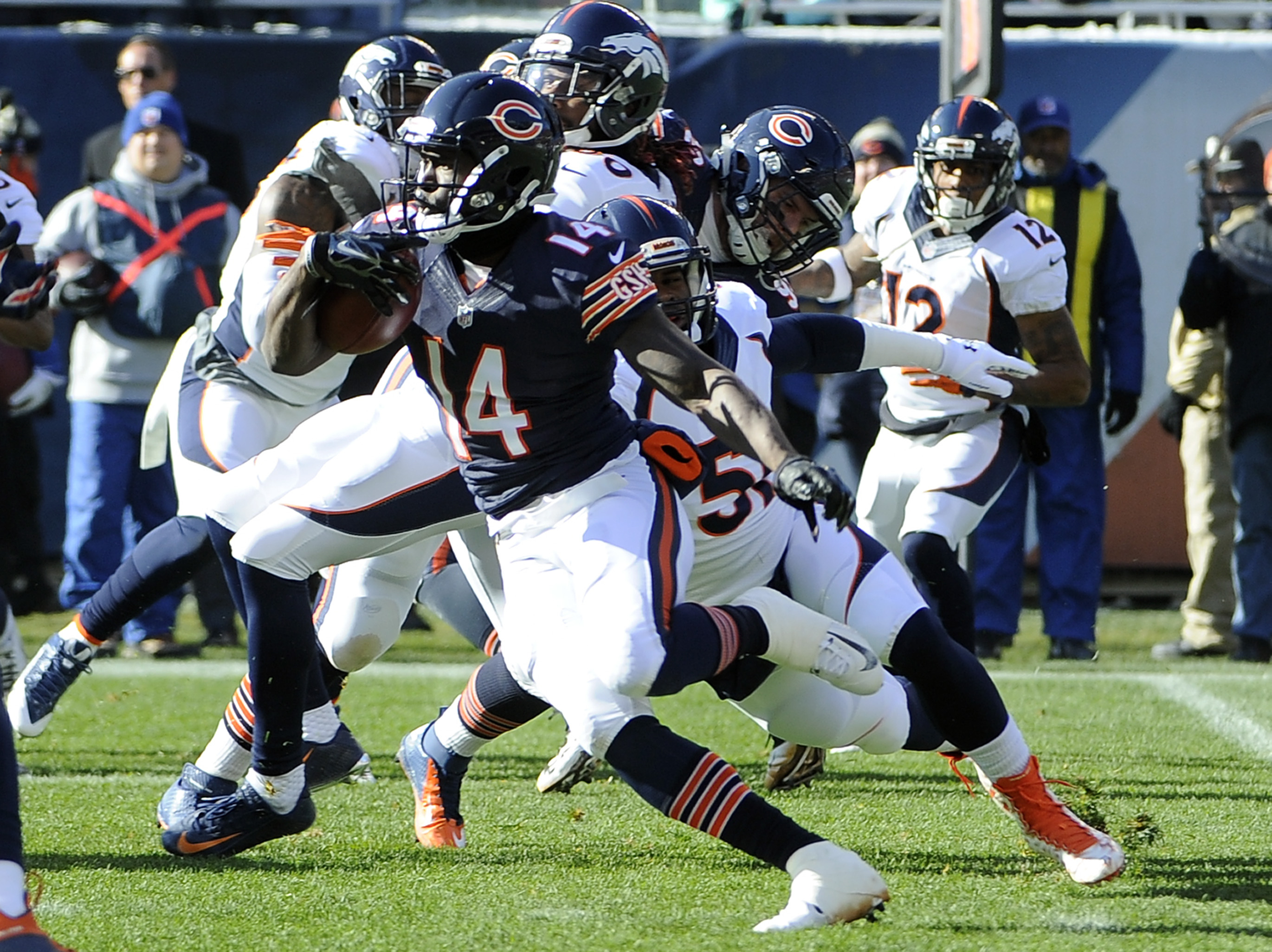 Deonte Thompson's return gives the Bears more team speed