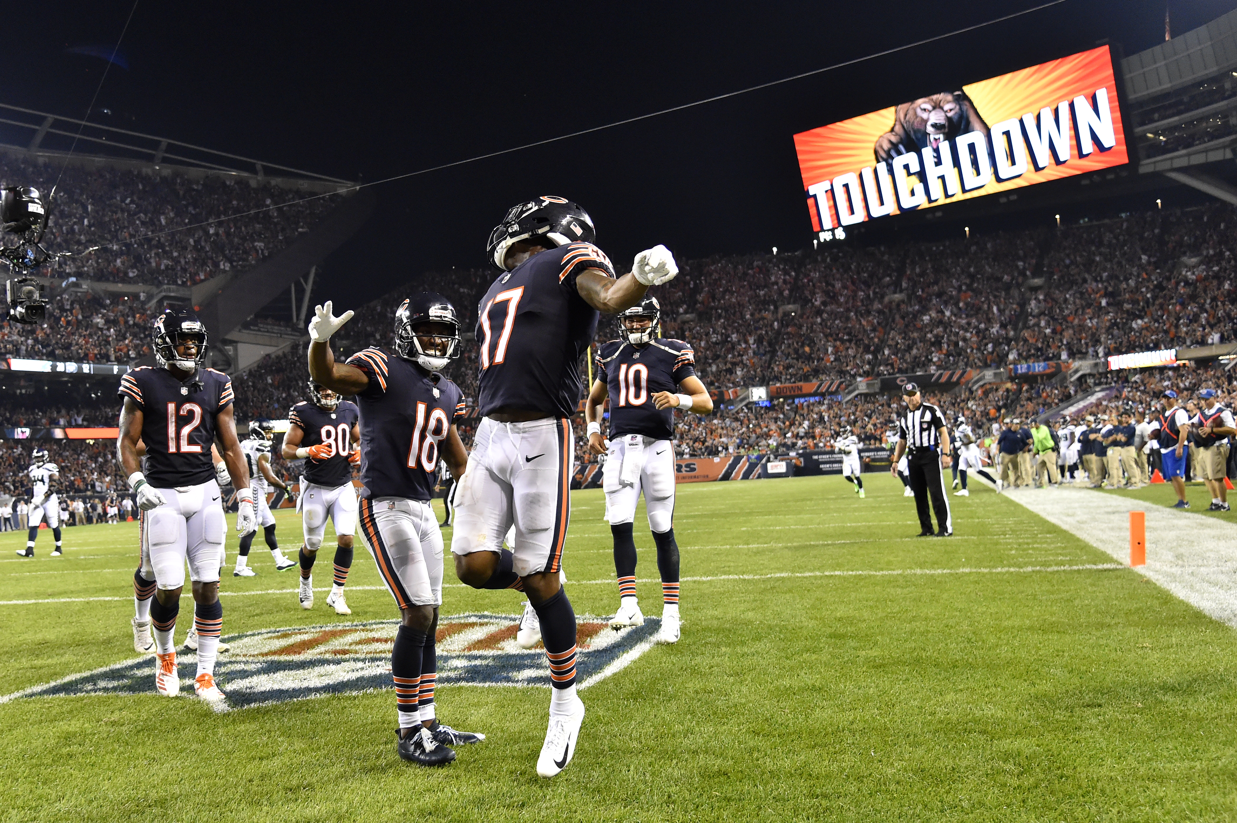 Dissecting the Bears' 24-17 win over Seattle in Week 2