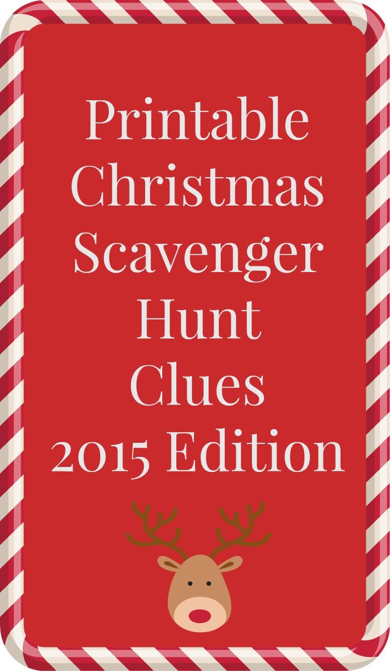 photograph about Christmas Scavenger Hunt Printable Clues named Printable Xmas scavenger hunt clues, 2015 version