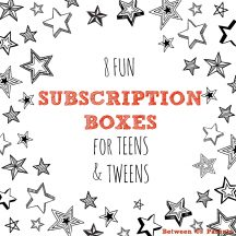 8 fun subscription boxes for teens and tweens, 2016 edition