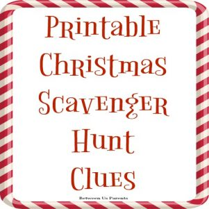 Printable Christmas scavenger hunt clues for gift-finding fun, 2017 edition