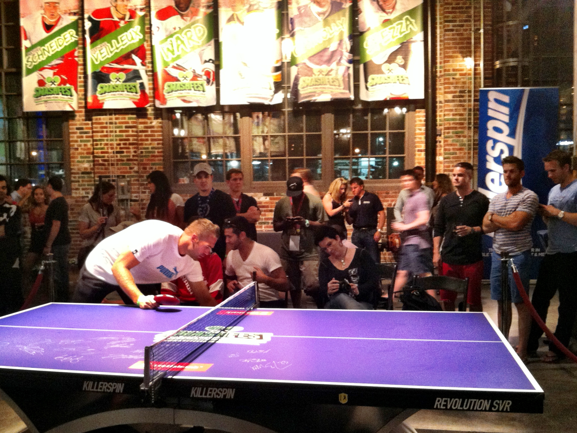A Smashing Success: Over $20K Raised for Charity at NHLPA's Inaugural Smashfest!