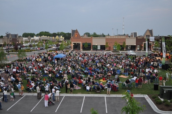 The 10,000 Maniacs play the Arboretum of South Barrington's block party tomorrow.