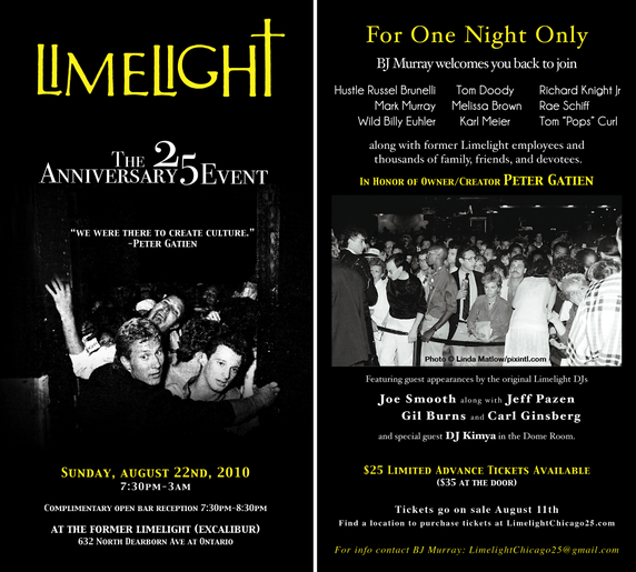 Limelight 25th anniversary reunion