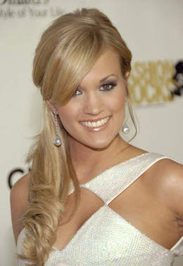 Mike Fisher's girlfriend (Carrie Underwood)