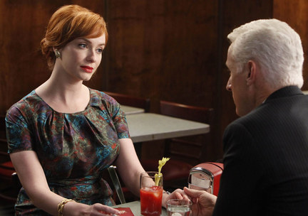 Mad Men Joan and Roger