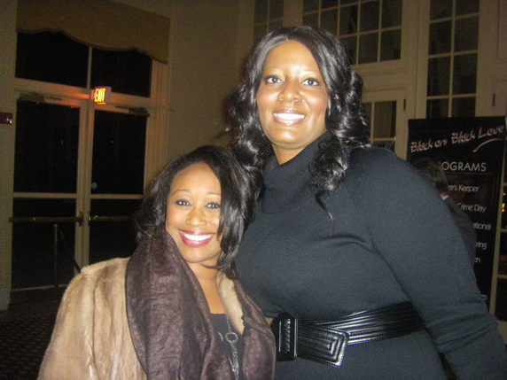 Singer Terisa Griffin with Keisha Smith
