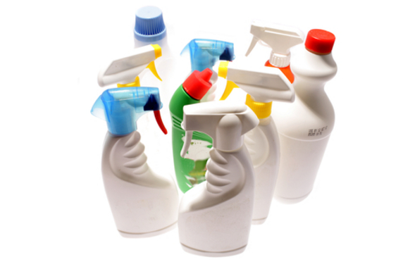 6.Using toxic chemicals in the home.
