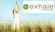 Spend some time with your mom and bring her to a class at Exhale Spa on Sunday for Free. (It also works vice versa, where moms can bring in a son or daughter for free as well).  It'll be a great way for you both to relax, exercise and spend time together.  I love the yoga and core fusion classes.  Exhale Spa is located on the corner of Oak and State St. here in Chicago.