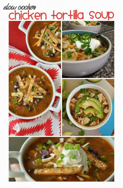 from blog peas & crayons  Ingredients, tips & directions http://www.peasandcrayons.com/2014/01/crock-pot-chicken-tortilla-soup.html
