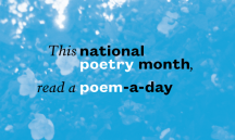 60 Poets You Could Be Reading to Celebrate National Poetry Month