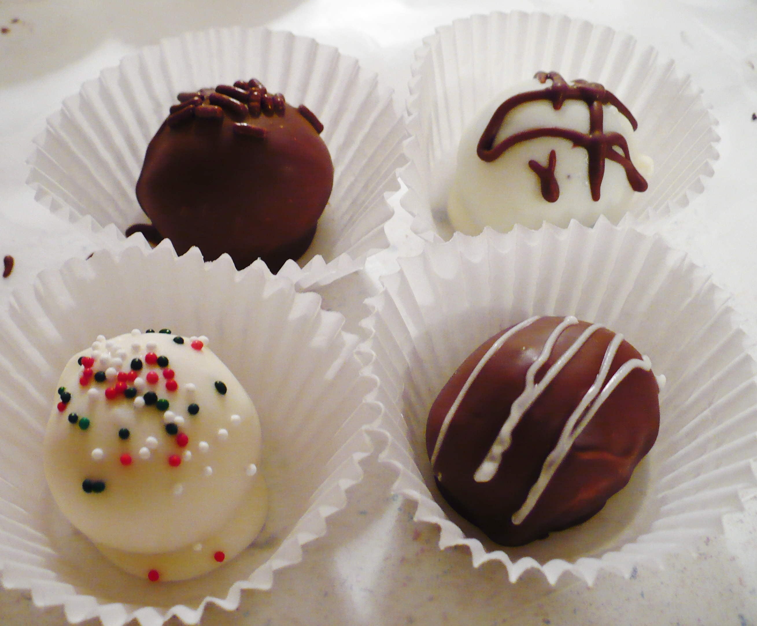 20 things I learned today while making chocolate cookie truffles