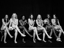 Women's Olympic Volleyball Team poses nude:  Classy or Tacky?