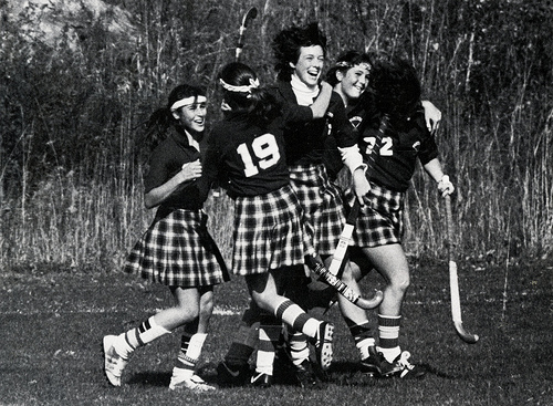 Lacrosse, Field Hockey, Golf and Tennis:  Lose the skirts