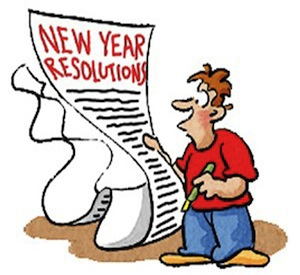 New Year's Resolutions:  I'm keeping these for sure!