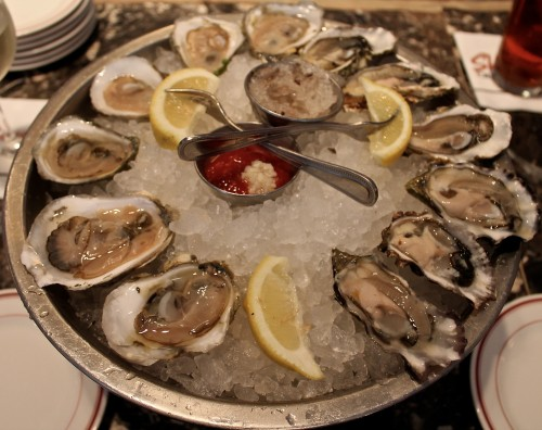 A Dozen Oysters at Shaw's