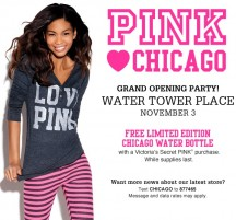 Victoria's Secret PINK Chicago Store Grand Opening Party at Water Tower