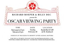 Richard Roeper and Billy Dec Host 2nd Annual Oscar Viewing Party