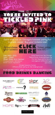 CHI-lebrity Party Pick: Tickled Pink's Charity Bash