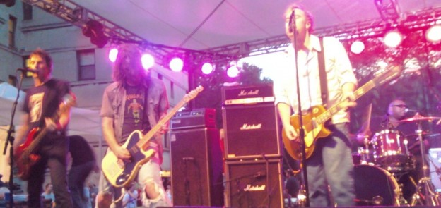 Soul Asylum and Mike Doughty Live at Sheffield Garden Walk - 7/23/11