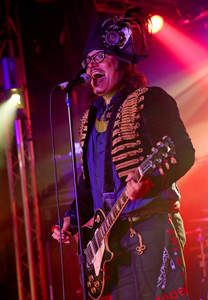 Adam Ant - Live in Chicago - Saturday, 10/13/12 at Cubby Bear (Photo by Barry Brecheisen)