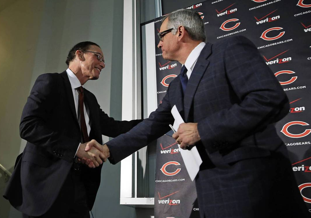 The culture is changing at Halas Hall, so get used to it, Meatballs