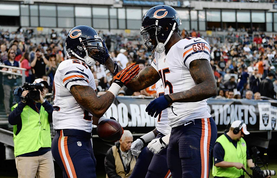 Chicago Bears wide receiver Brandon Marshall poised for drop in production?