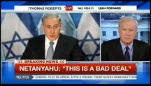 Chris Matthews takes Netanyahu to task on the two-state solution