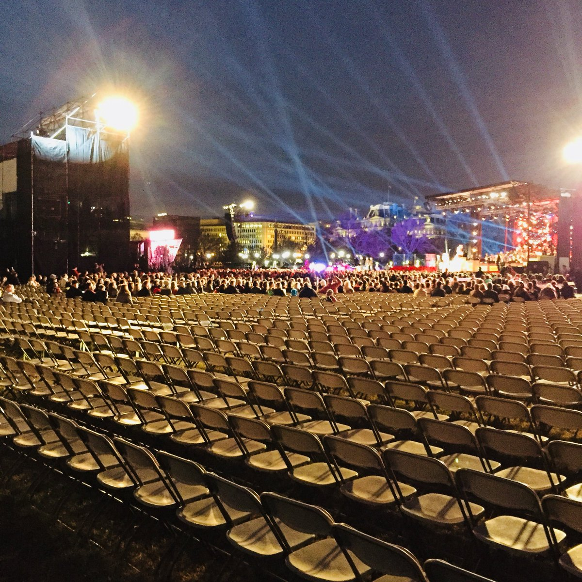 hugest crowd in history attends national christmas tree lighting ceremony