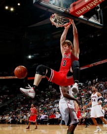 Bulls too much for Hawks 98-77