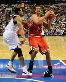 Joakim Noah appears doubtful to return in Bulls' series
